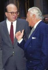 BETTINO CRAXI E GIANNI AGNELLI
