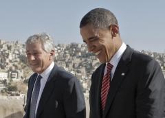 Hagel Obama AP