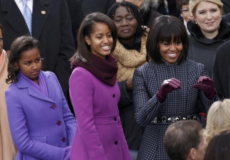 Michelle obama con le figlie sasha e malia - Dago fotogallery