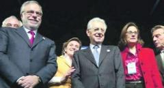 """monti riccardi montezemolo 213107 tn Riccardi accusa Monti: """"Più dava legnate al paese, più la Merkel era contenta e più lui era soddisfatto"""""""