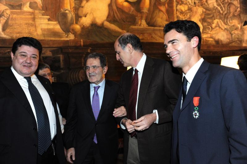 Benotti Prodi Passera e Gozi