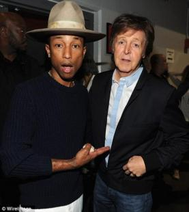 Pharrell Williams e Paul McCartney