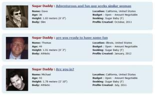 sugar daddys