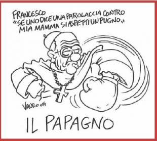 VIGNETTA VAURO - BERGOGLIO PAPAGNO