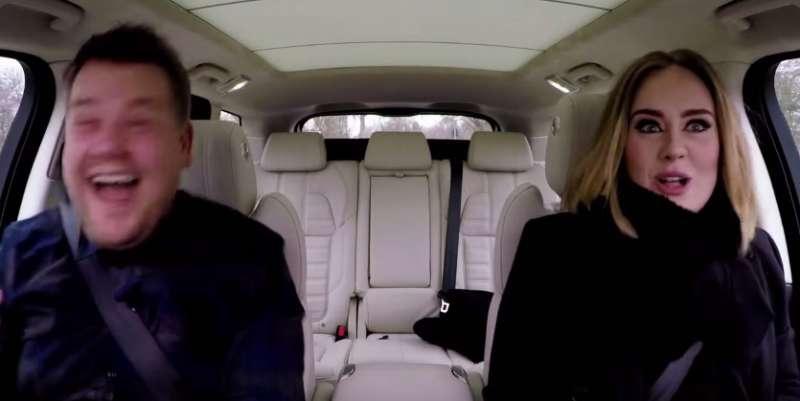 Adele james corden carpool karaoke 2 dago fotogallery - Una finestra tra le stelle karaoke ...