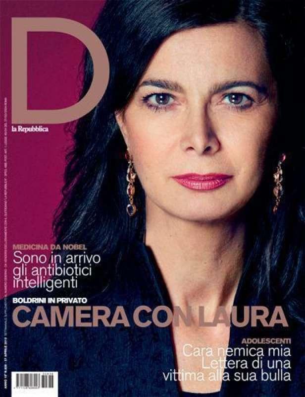 laura boldrini copertina d repubblica