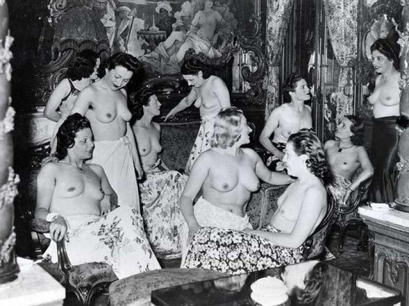 ретро салон проституток