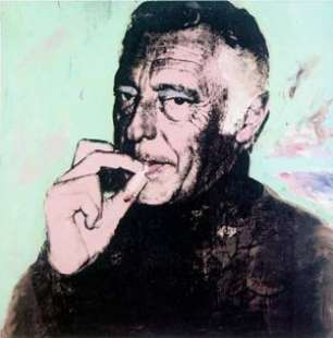 Gianni Agnelli by Warhol