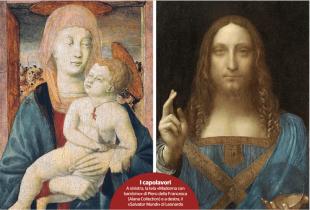 madonna con bambino - salvator mundi