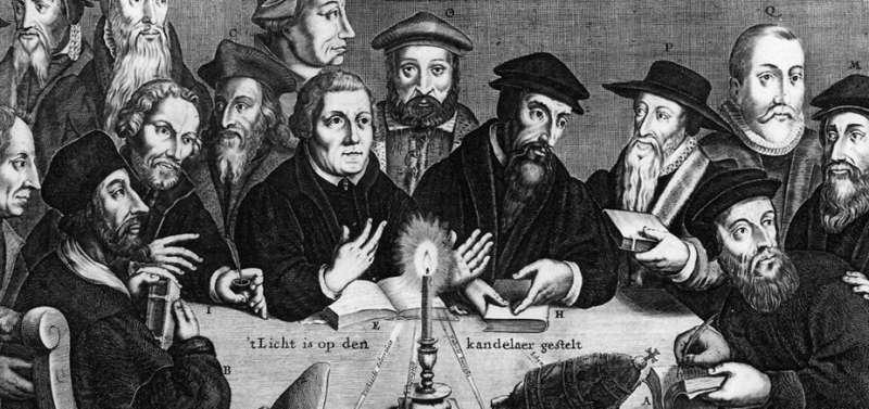 riforma di martin lutero