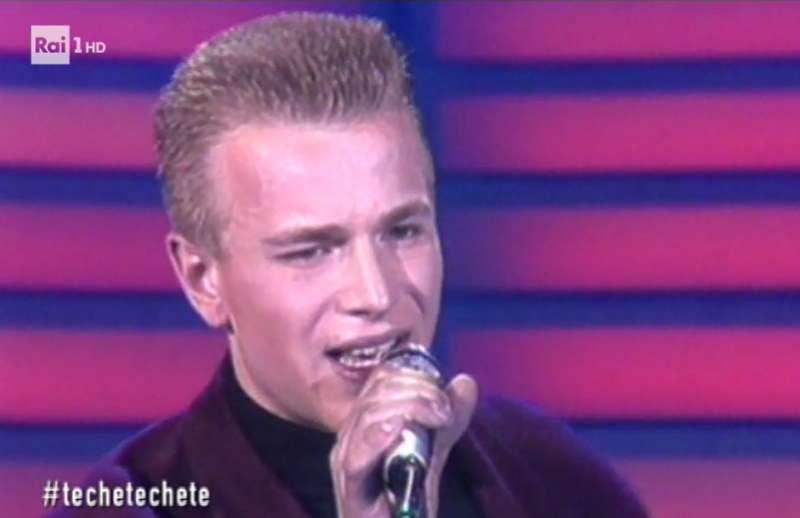Teodosio Losito a Sanremo 1987