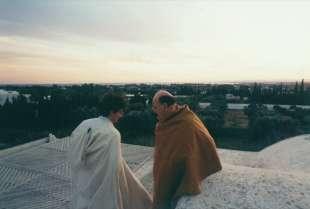 1997. bettino craxi casa hammamet 2 con luca josi