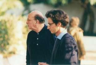 1997. bettino craxi casa hammamet 3 con luca josi