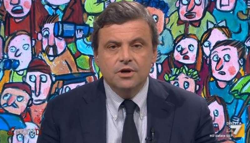 CARLO CALENDA OSPITE DI DIMARTEDI