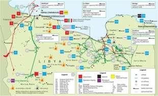 gli affari di eni e total in libia
