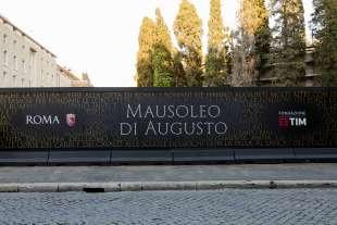mausoeo di augusto restauro fondazione tim