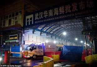 mercato del pesce di wuhan 1
