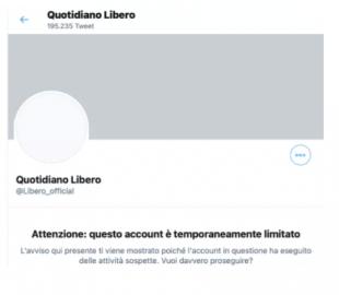account twitter libero
