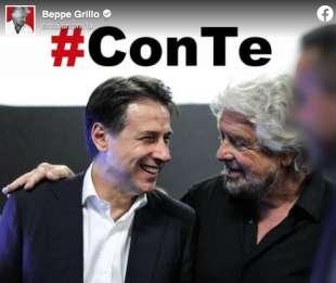 BEPPE GRILLO E GIUSEPPE #CONTE