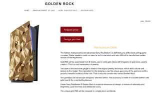 caviar playstation 5 golden rock 16
