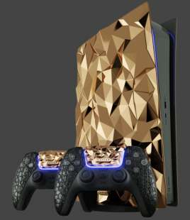 caviar playstation 5 golden rock 5
