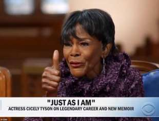 cicely tyson a cbs this morning