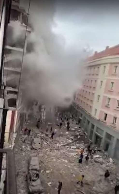 esplosione a madrid 4