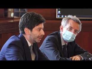 Gaetano Manfredi e Roberto Speranza