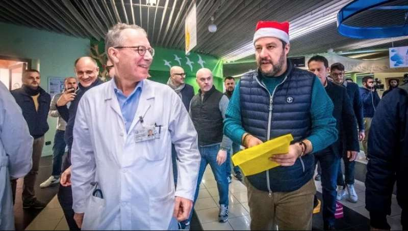 GIAN VINCENZO ZUCCOTTI E MATTEO SALVINI