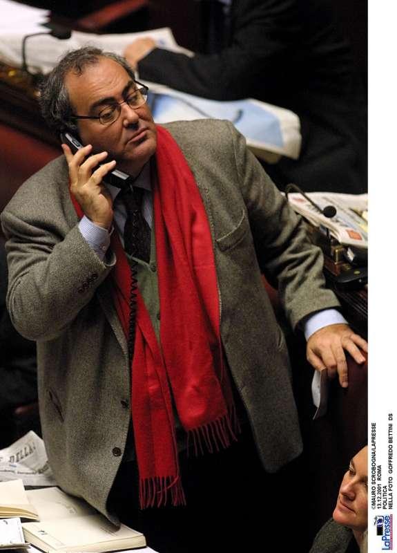 goffredo bettini in parlamento 2001