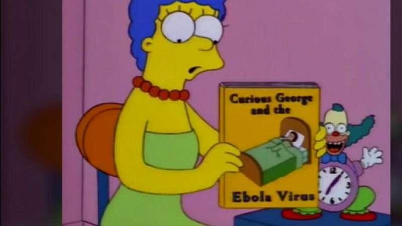 i simpson avevano previsto il virus ebola