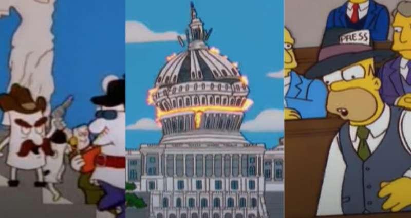 i simpson e la rivolta contro il congresso