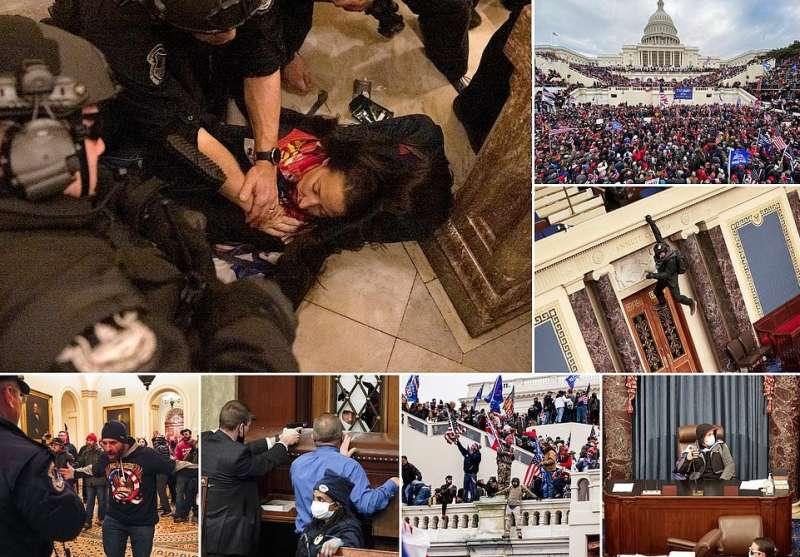 i supporter di trump invadono il congresso 8
