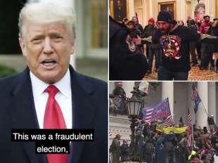 i supporter di trump invadono il congresso 9