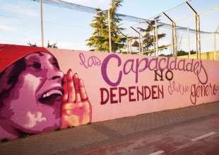 il messaggio del murale