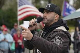 joey gibson, leader di patriot prayer