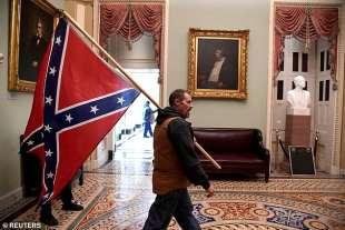 la bandiera confederale al congresso