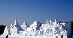 la citta' di ghiaccio dell'harbin ice and snow festival 1