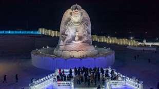 la citta' di ghiaccio dell'harbin ice and snow festival 10