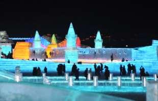 la citta' di ghiaccio dell'harbin ice and snow festival 12