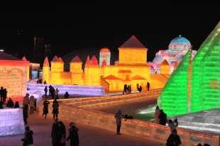 la citta' di ghiaccio dell'harbin ice and snow festival