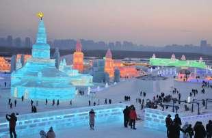la citta' di ghiaccio dell'harbin ice and snow festival 16
