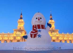 la citta' di ghiaccio dell'harbin ice and snow festival 17