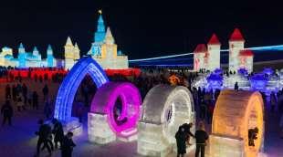la citta' di ghiaccio dell'harbin ice and snow festival 20