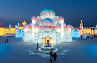 la citta' di ghiaccio dell'harbin ice and snow festival 24
