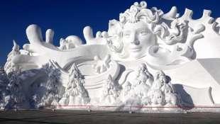 la citta' di ghiaccio dell'harbin ice and snow festival 3
