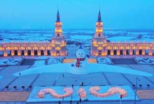 la citta' di ghiaccio dell'harbin ice and snow festival 4