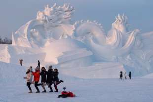 la citta' di ghiaccio dell'harbin ice and snow festival 6