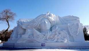 la citta' di ghiaccio dell'harbin ice and snow festival 9