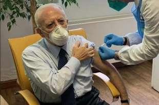 la vaccinazione di vincenzo de luca